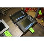 (2) Allen-Bradley PanelView 1000 Touchscreen Displays, 100-240 VAC (LOCATED IN MEDFORD, WI) (