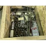 Lot of Assorted Pepperoni Slicer Parts, Includes NEW Cylinders, Cylinder Blades, Nuts & Bolts, &