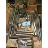 Assortment of tool steel