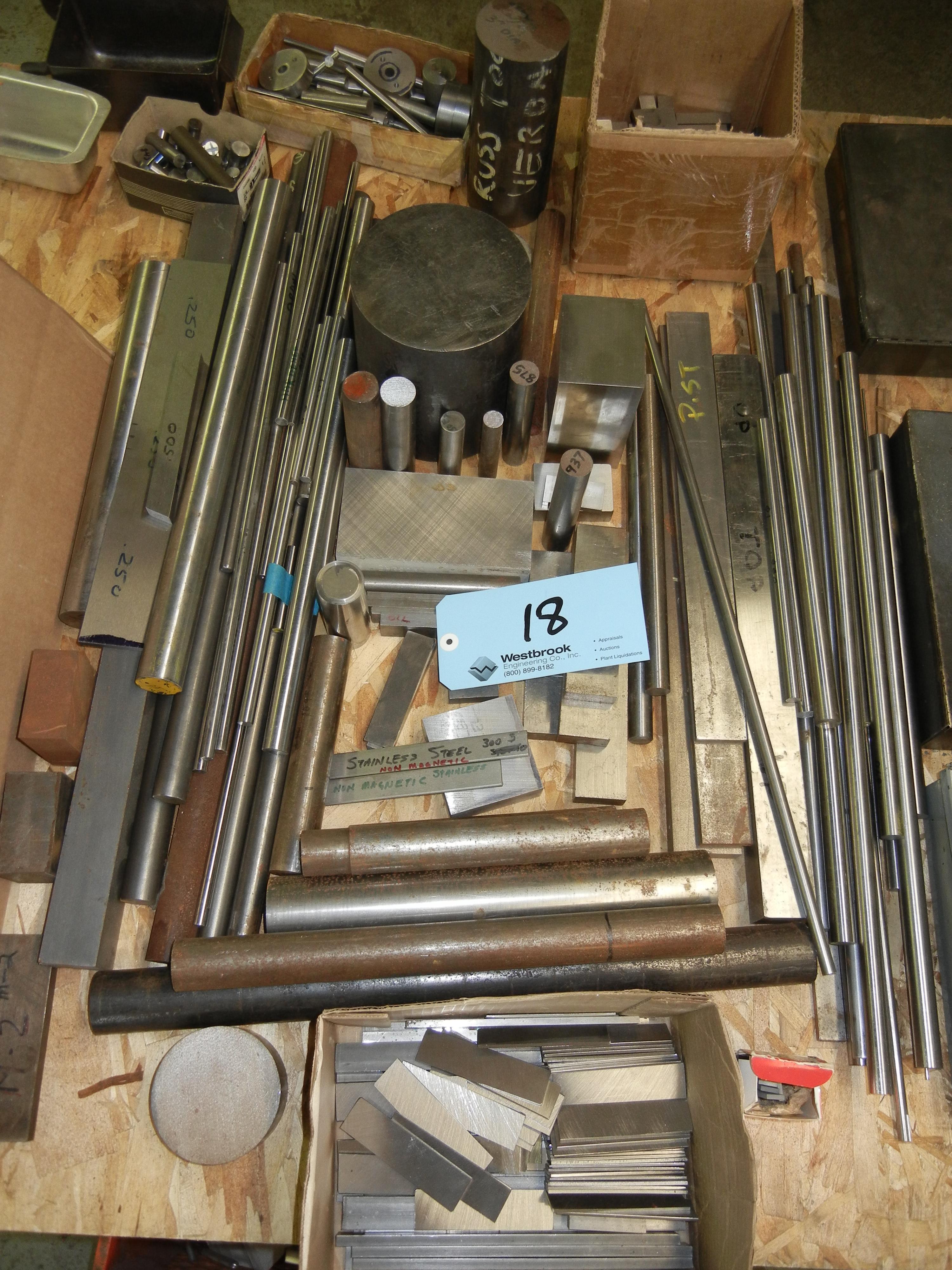 Assortment of tool steel