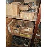 Planer gage parts, collets and other contents of cabinet (cabinet not included)