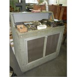 Shop cabinet on wheels