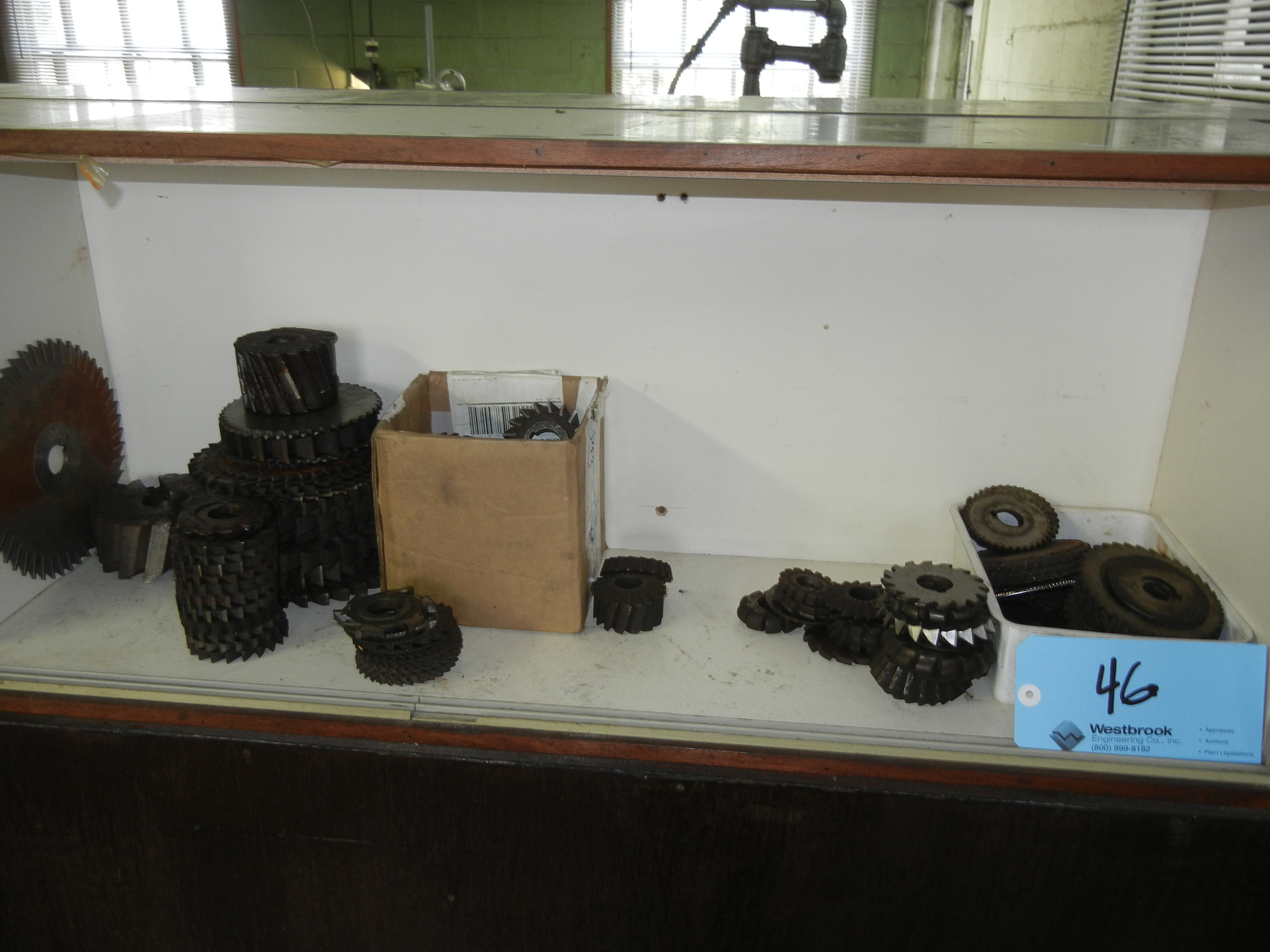 Contents of cabinet with high speed steel and cutters (CABINET NOT INCLUDED) - Image 2 of 3