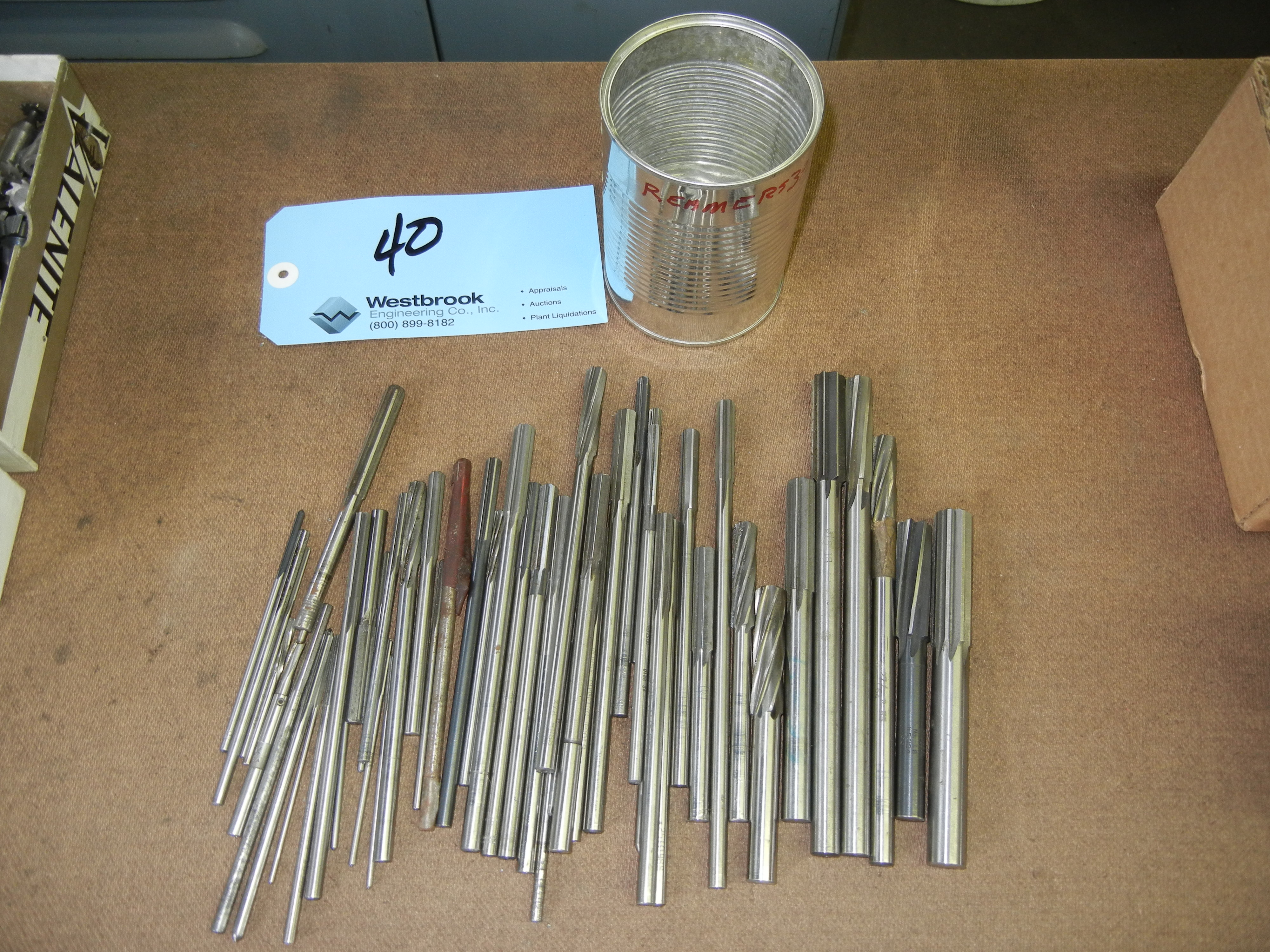 Lot of reamers