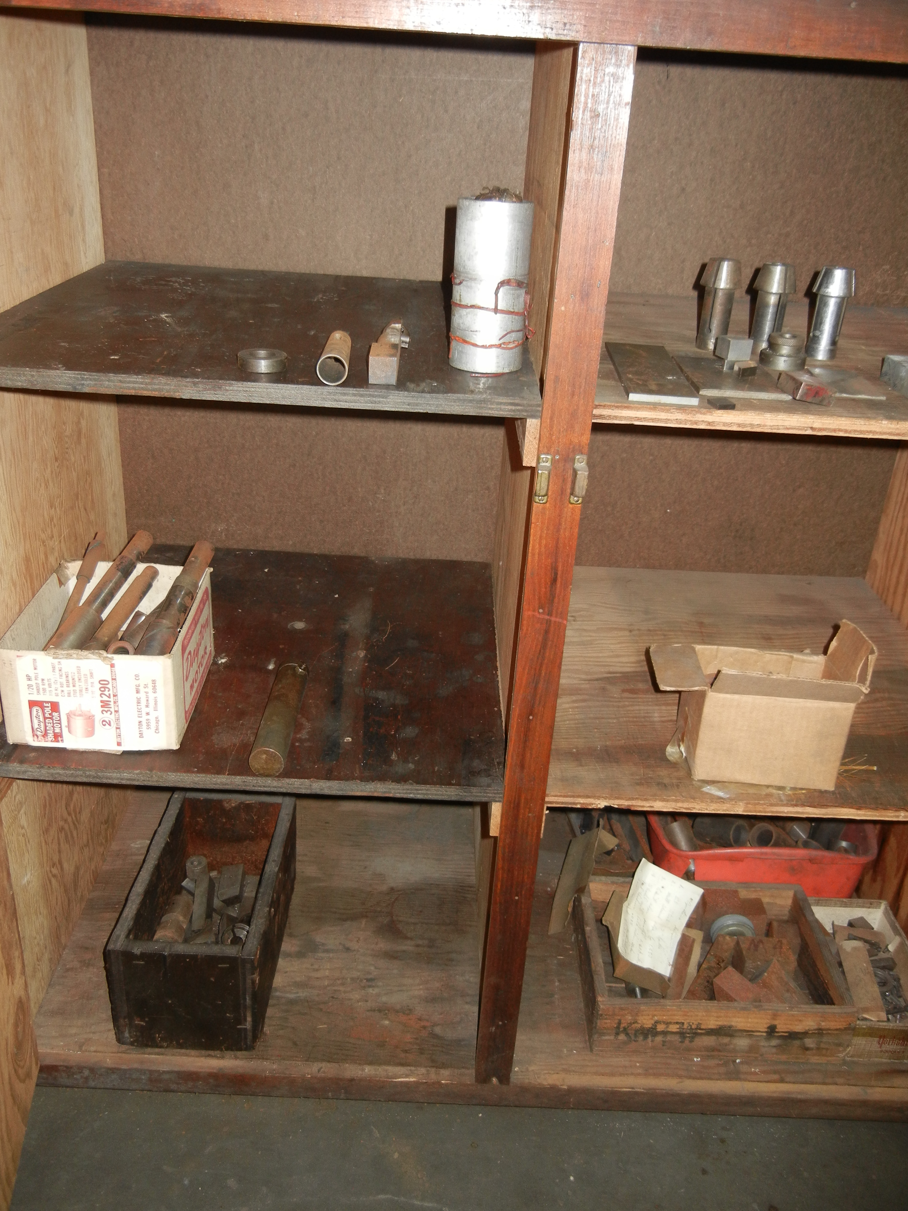 Planer gage parts, collets and other contents of cabinet (cabinet not included) - Image 3 of 4