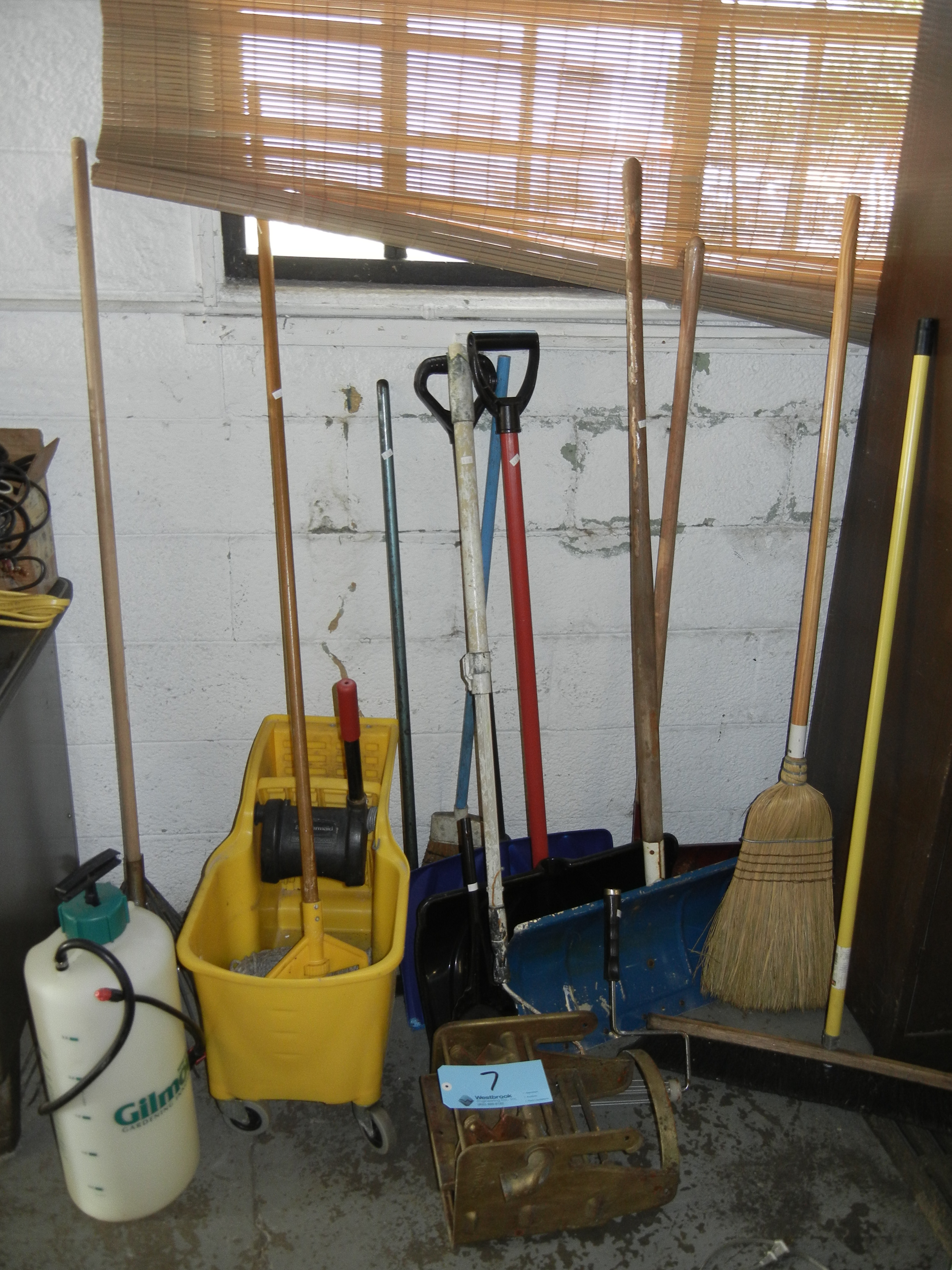 Assorted misc clean up and snow removal items