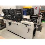 "TOKO 2-COLORS OFSET PRINTING PRESS MOD. R2, 11"" X 19"" CAP., 230V/60HZ, S/N: 140191 (LOCATED IN ST-"
