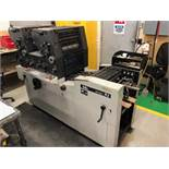 "TOKO 2-COLORS OFFSET PRINTING PRESS MOD. R2, 11"" X 19"" CAP., 230V/60HZ, S/N: 140204 (LOCATED IN ST-"