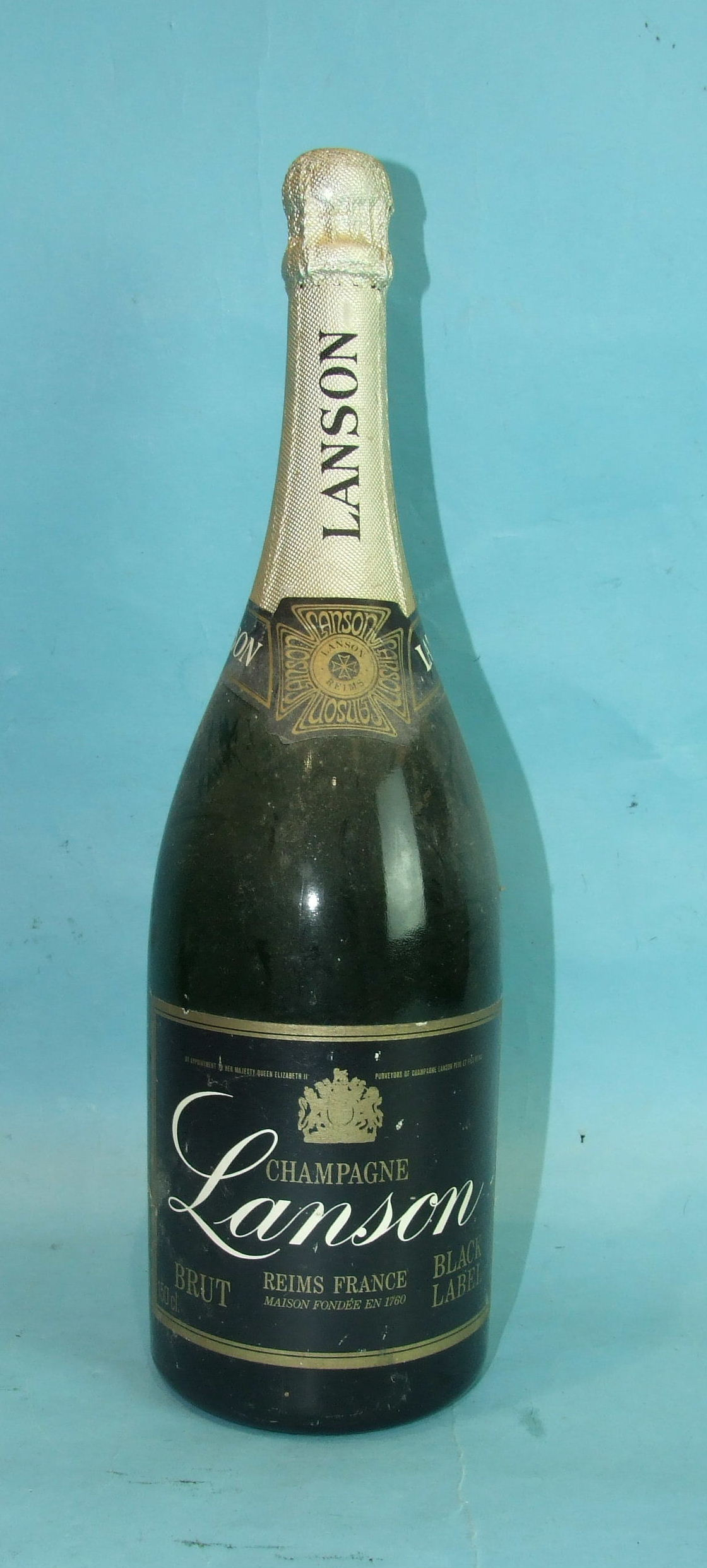 Lot 2 - Lanson Black Label Brut Champagne, one magnum.