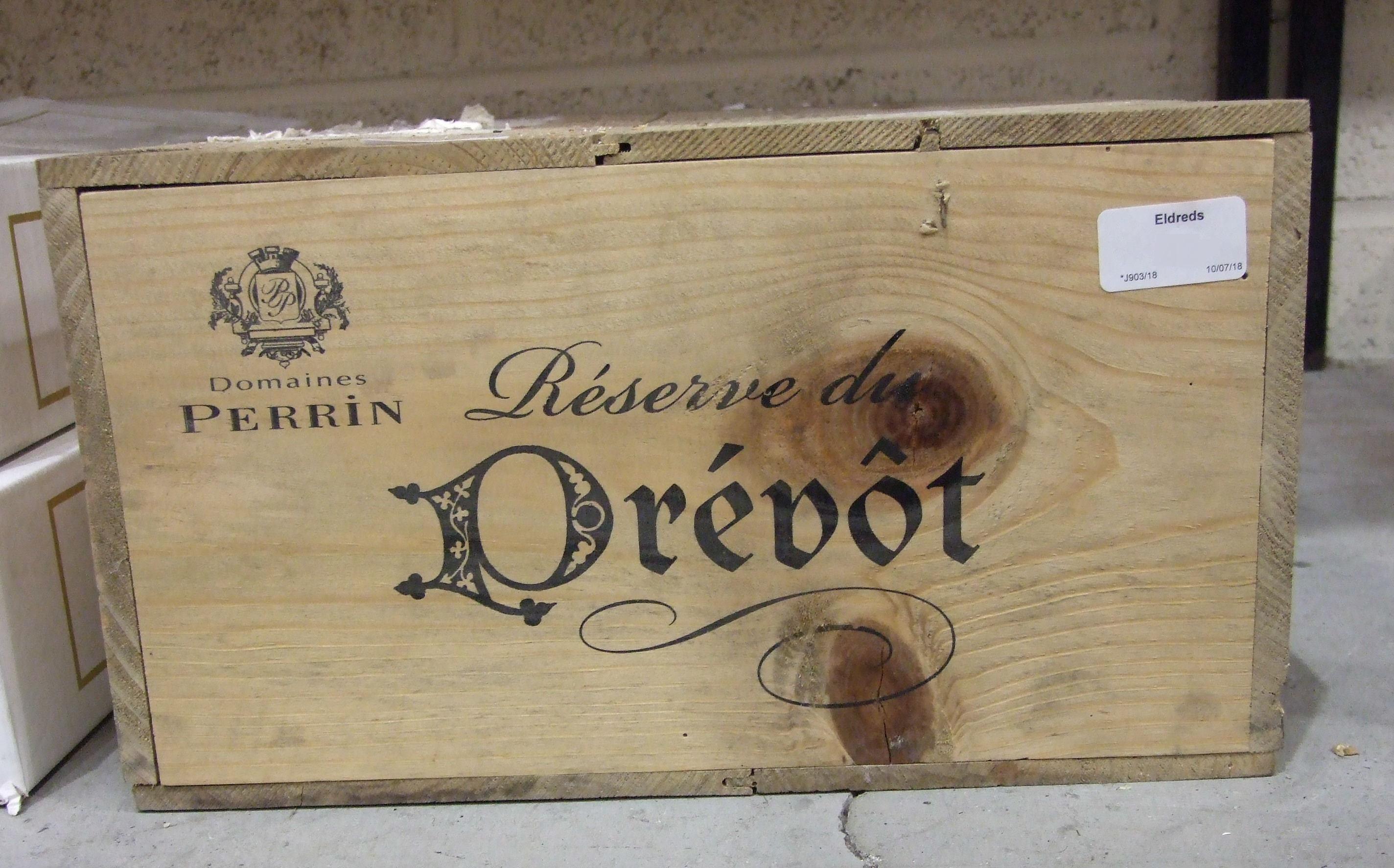 Lot 34 - Perrin Reserve de Prebot 2000, 12 bottles, Special Cuvée, OWC.
