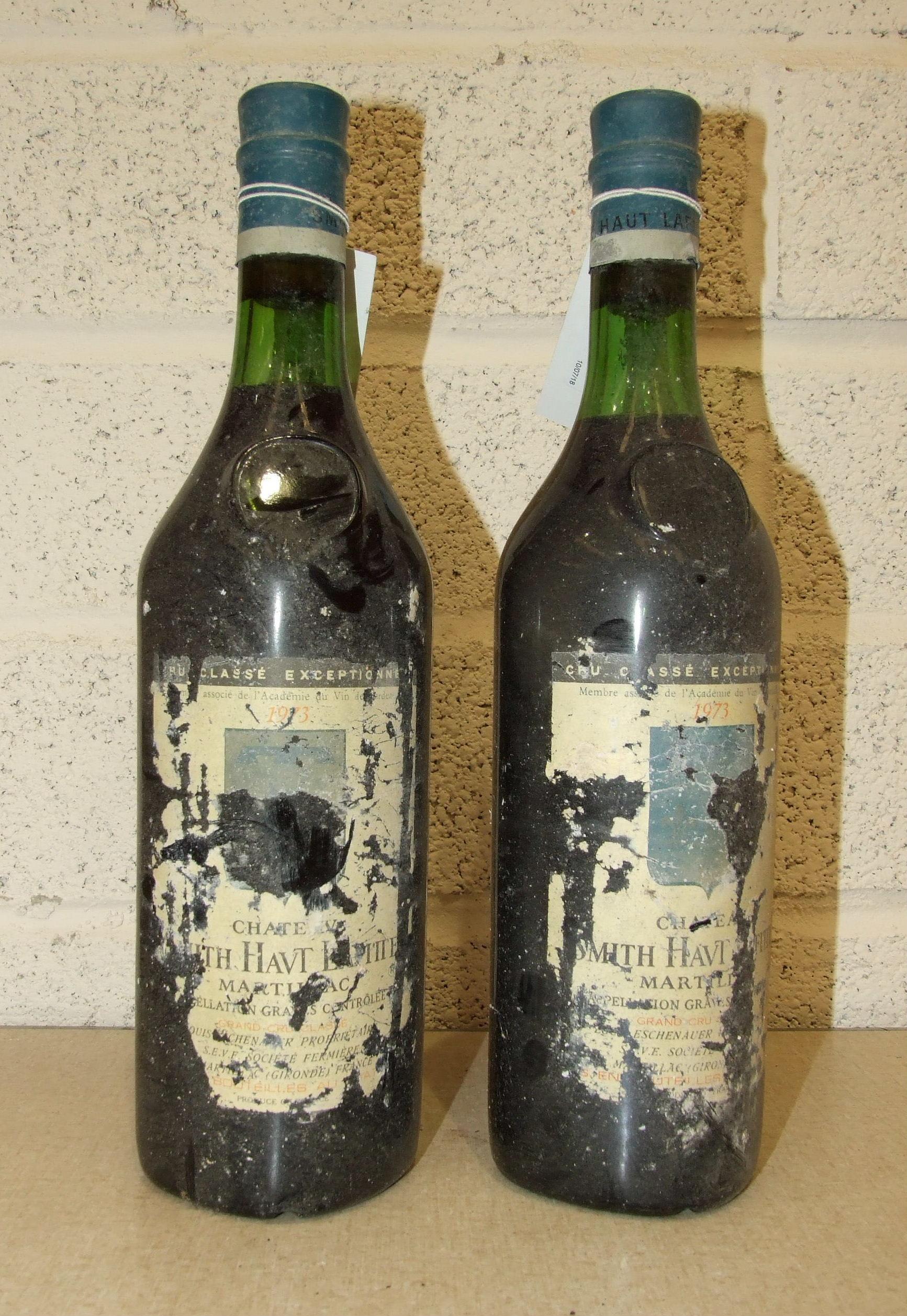 Lot 12 - Chateau Smith-Haut-Lafite 1973, 2 bottles, Grand Cru Pessac-Leognan.