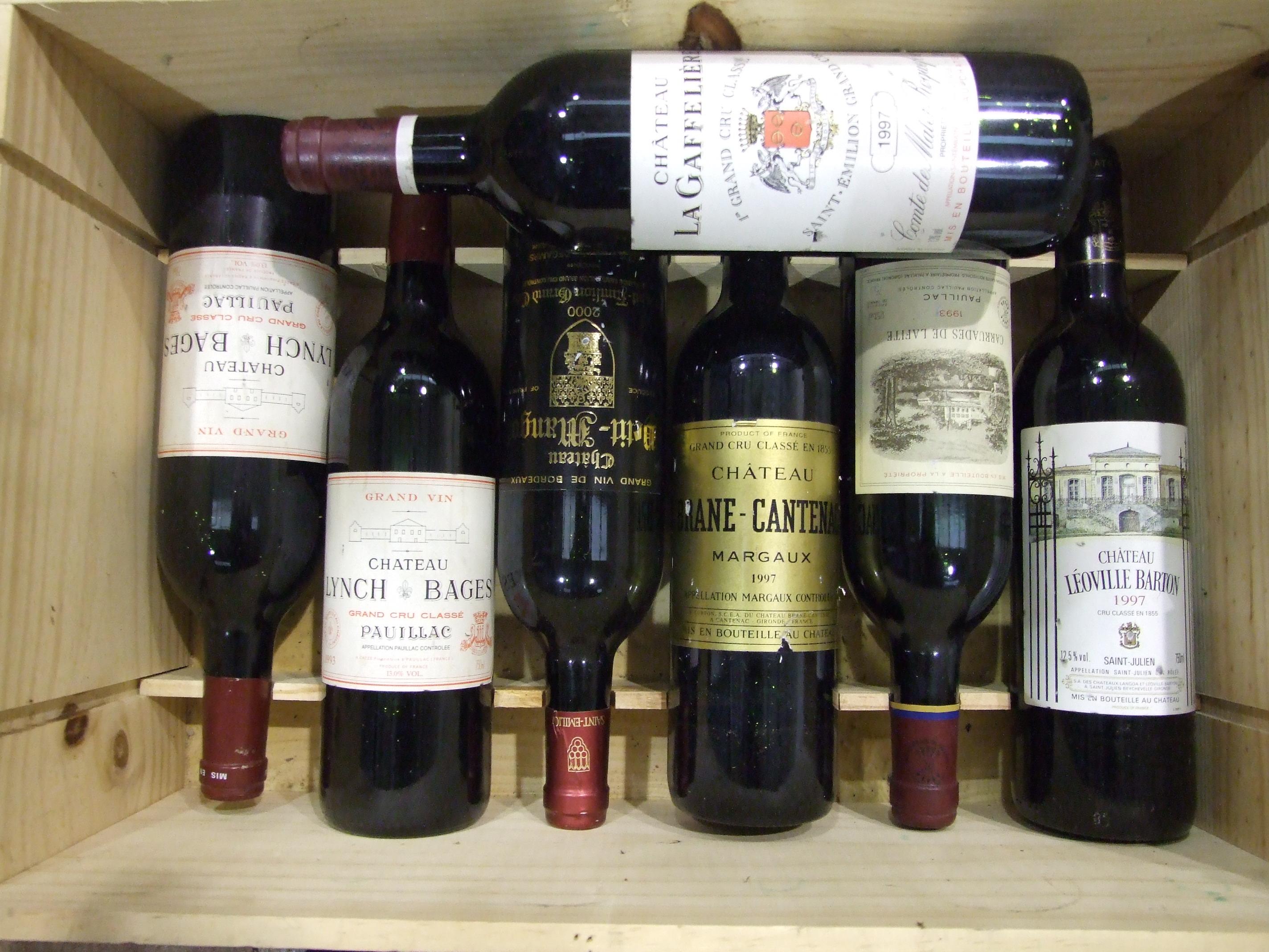 Lot 16 - Chateau Lynch Bages Grand Cru Classé Pauillac 1993, two bottles, Carruades de Lafite 1993, one