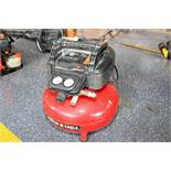 AIR COMPRESSOR, PORTER CABLE, 150 PSI, 6 gal., 2.6 SCFM, maintenance free pump