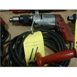 ELECTRIC HAMMER DRILL, MILWAUKEE 120 v.