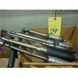 LOT OF PNEUMATIC GRINDERS (5)