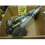 LOT OF PNEUMATIC GRINDERS (3)