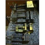 LOT OF MACHINE VISES (4), assorted
