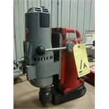 "MAGNETIC BASE DRILL, MILWAUKEE 3/4"", H.D., 250/500 RPM,  115 v."