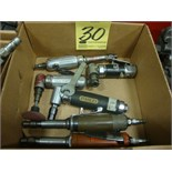 LOT OF PNEUMATIC DIE GRINDERS (6)
