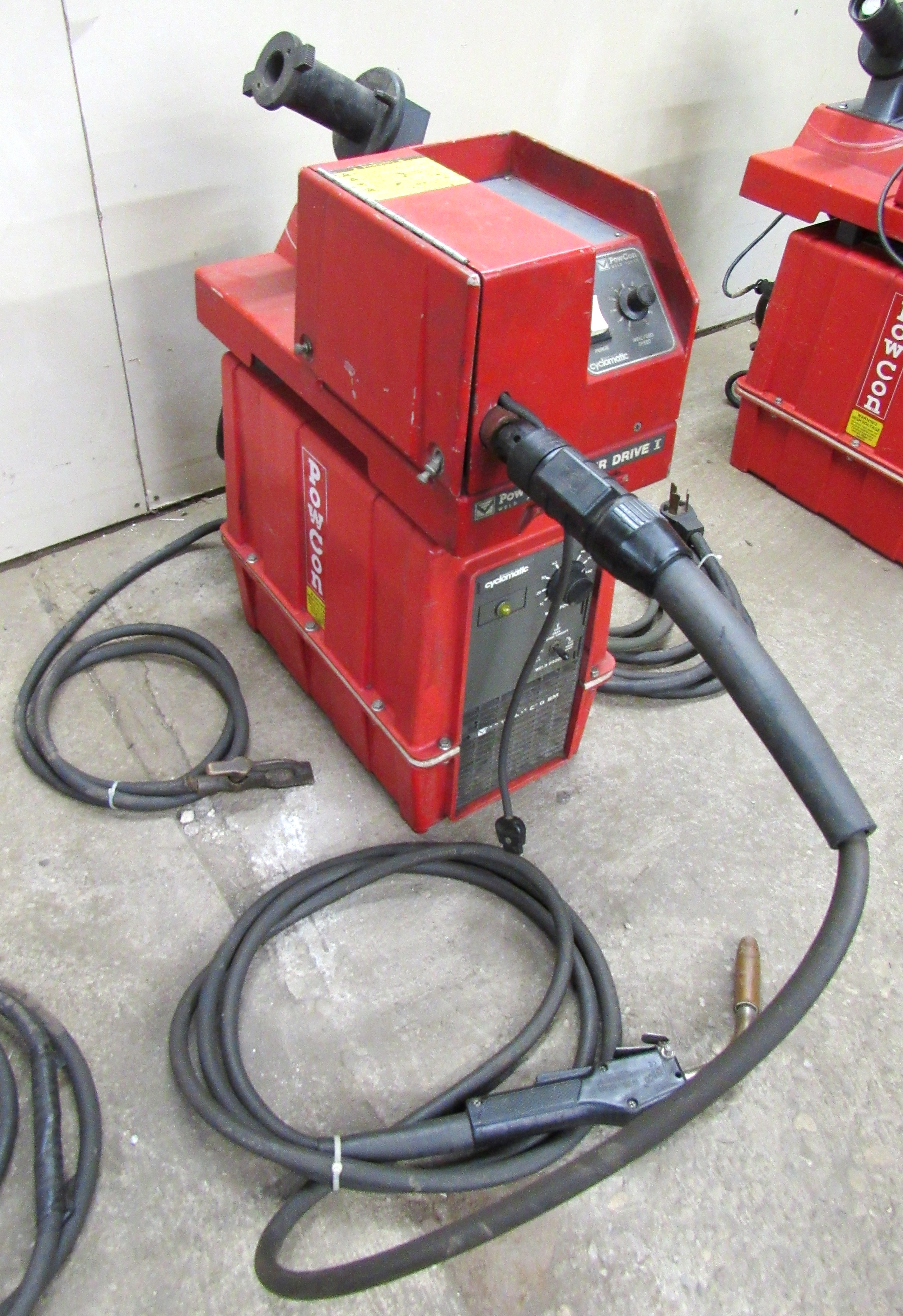 Cyclomatic Powcon 200SM Wire Feed 200 Amp Mig Welding Unit
