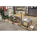 ROBOTRON MODEL EN1000 WELDING CONTROL WITH SPOT WELDER, CABLE, ACCESSORIES