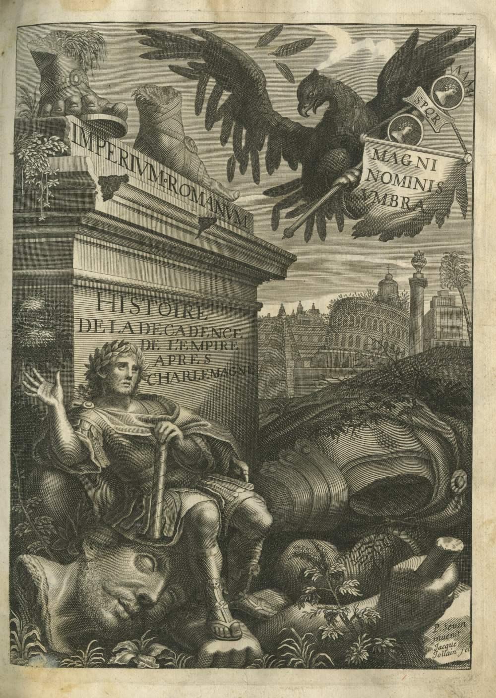 Lot 49 - Maimbourg (P. Louis) S.J. Histoire de la Decadence de l'Empire apres Charlemagne, 4to Paris 1679.