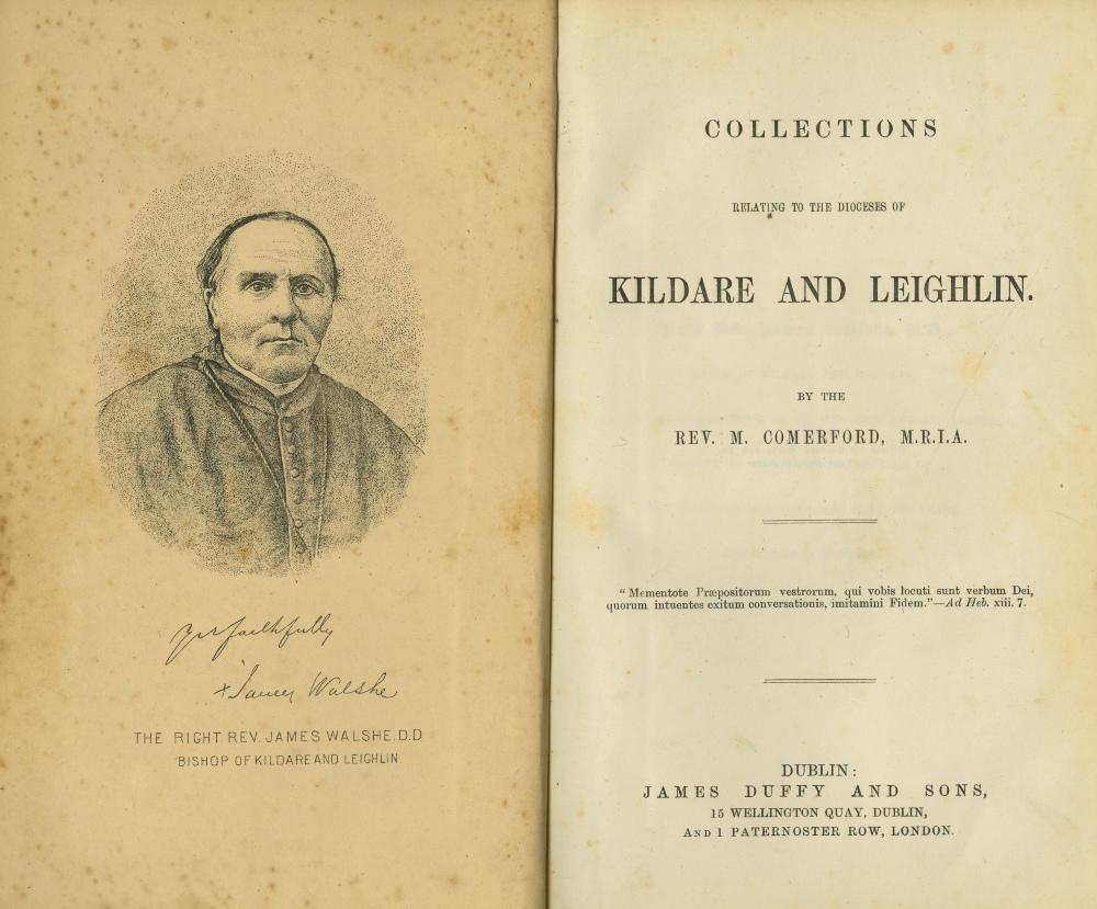 Kildare & Leighlin: Comerford (Rev. M. - Image 2 of 2
