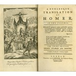 [Brydges (Thos.)] A Burlesque Translation of Homer, 2 vols. 12mo Lond. 1771. Third Edn.
