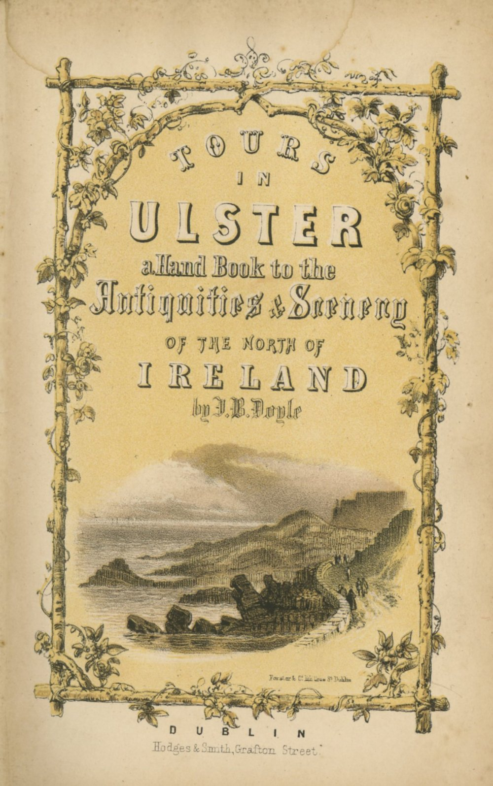 Northern Ireland: Doyle (J.B.) Tours in Ulster: A Handbook of The Antiquities and Scenery... sm.