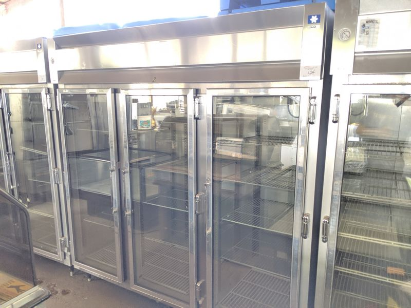 McCall 3 Door Display Freezer with Remote Heavy Duty Air Cooled Compressor
