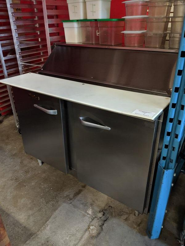 """Lot 7 - Traulsen 48"""" Refrigerated Prep Table"""