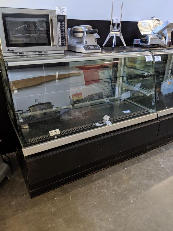 """Lot 107 - CDS -60"""" Bow Front Self Contained Refrigerated Display Cooler"""