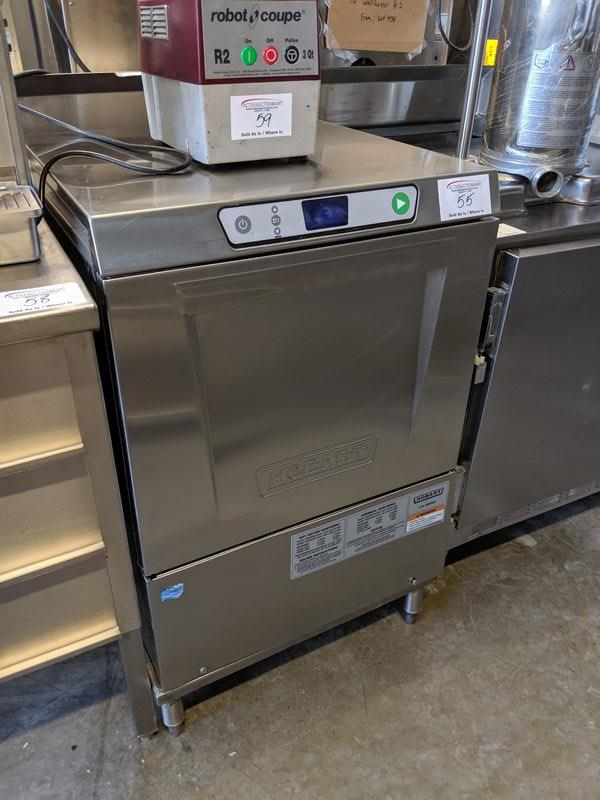 Lot 55 - Hobart High Temp Undercounter Dishwasher - LXE Series