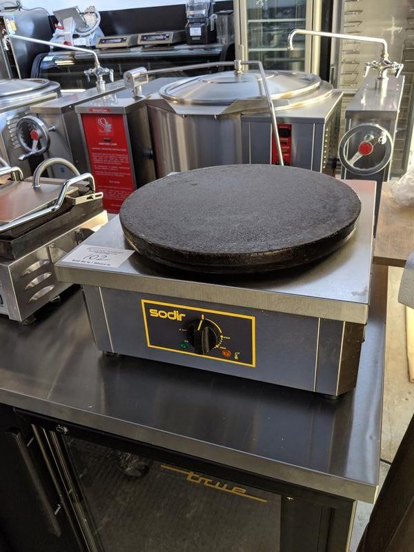 Sodir Model 400E Crepe Maker - Used 1 Year