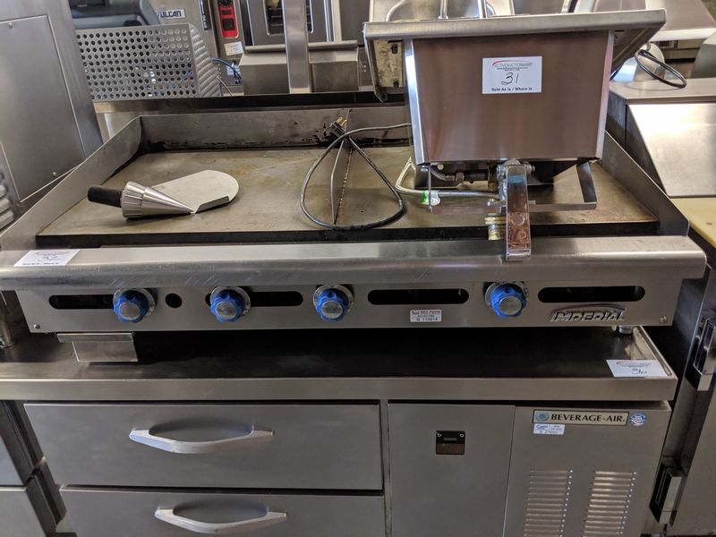 "Lot 32 - Imperial 48"" Gas Griddle"