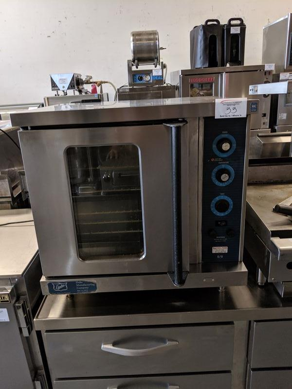 Lot 33 - Duke Countertop 5/9 Electric Convection Oven
