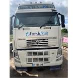 Volvo FH460 6x2 single berth 44,000Kg tractor unit Registration No. YT61 AHE 868,617 recorded kms