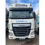 DAF XF510 Euro 6 6x2 44,000Kg Tractor Unit twin berth Registration No.GN66ZFL 467,976 recorded kms