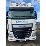 DAF XF510 Euro 6 6x2 44,000Kg Tractor Unit twin berth Registration No. GN16 FRC 503,652 recorded kms