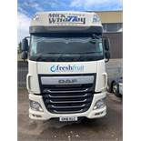 DAF XF510 Euro 6 6x2 44,000Kg Tractor Unit complete twin berth 6x2 Registration No. GK16 KLC...