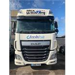 DAF XF510 Euro 6 6x2 44,000Kg Tractor Unit complete with twin berth Registration No. GN16 FRD...