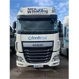 DAF XF510 Euro 6 6x2 44,000Kg Tractor Unit complete with twin berth Registration No. GK16 KLA...