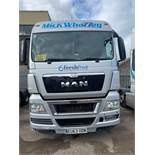 Man TGX 26.440 6x2 44,000Kg Tractor Unit twin berth Registration No. EU63ODW 554,634 recorded kms