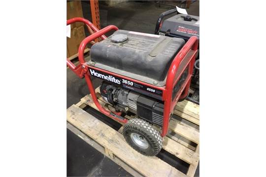 540x360 homelite portable 3650 watt gas generator on wheels w subaru engine