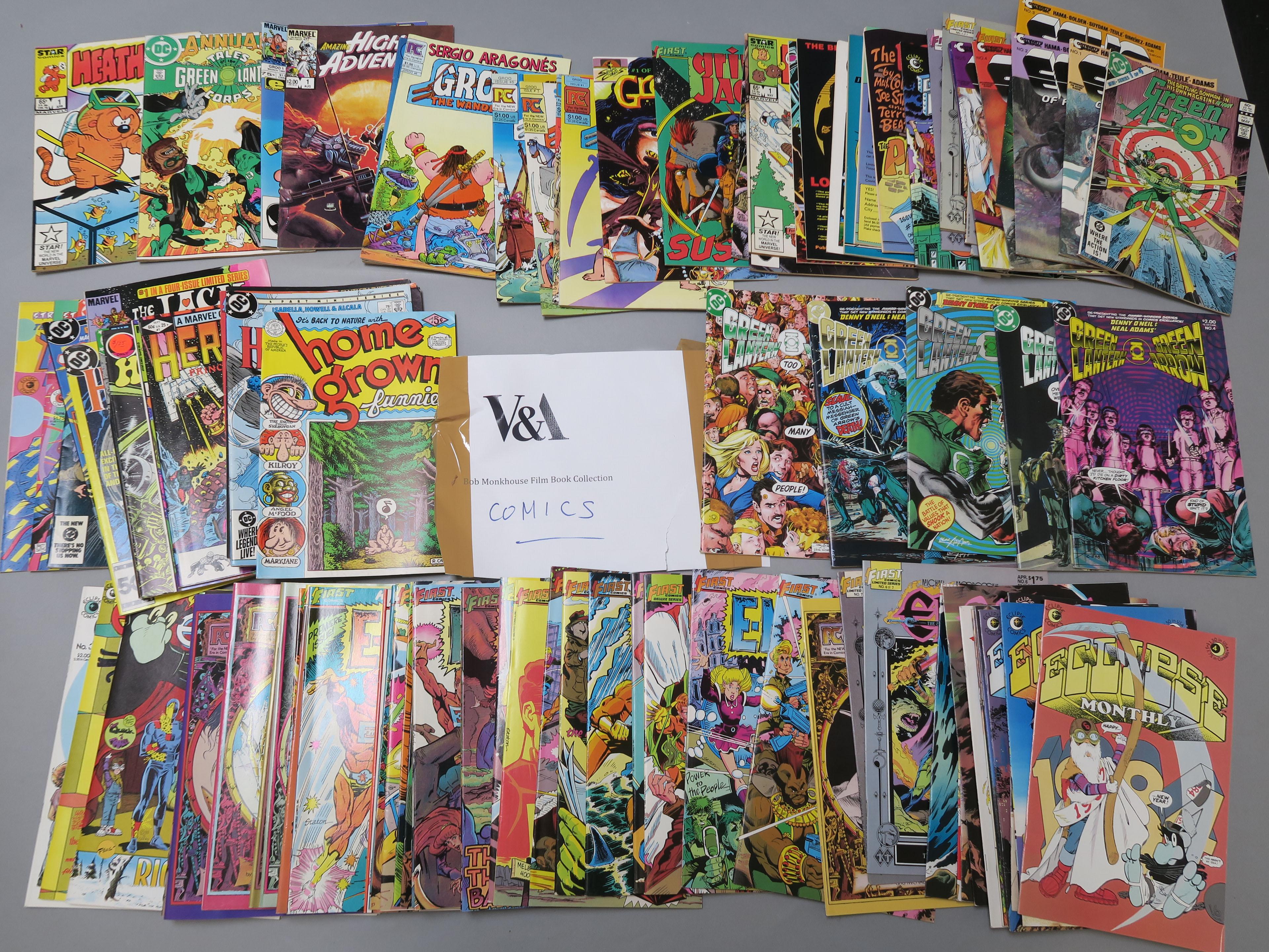 Lot 54 - The following lots are Bob Monkhouse personal books, comics,