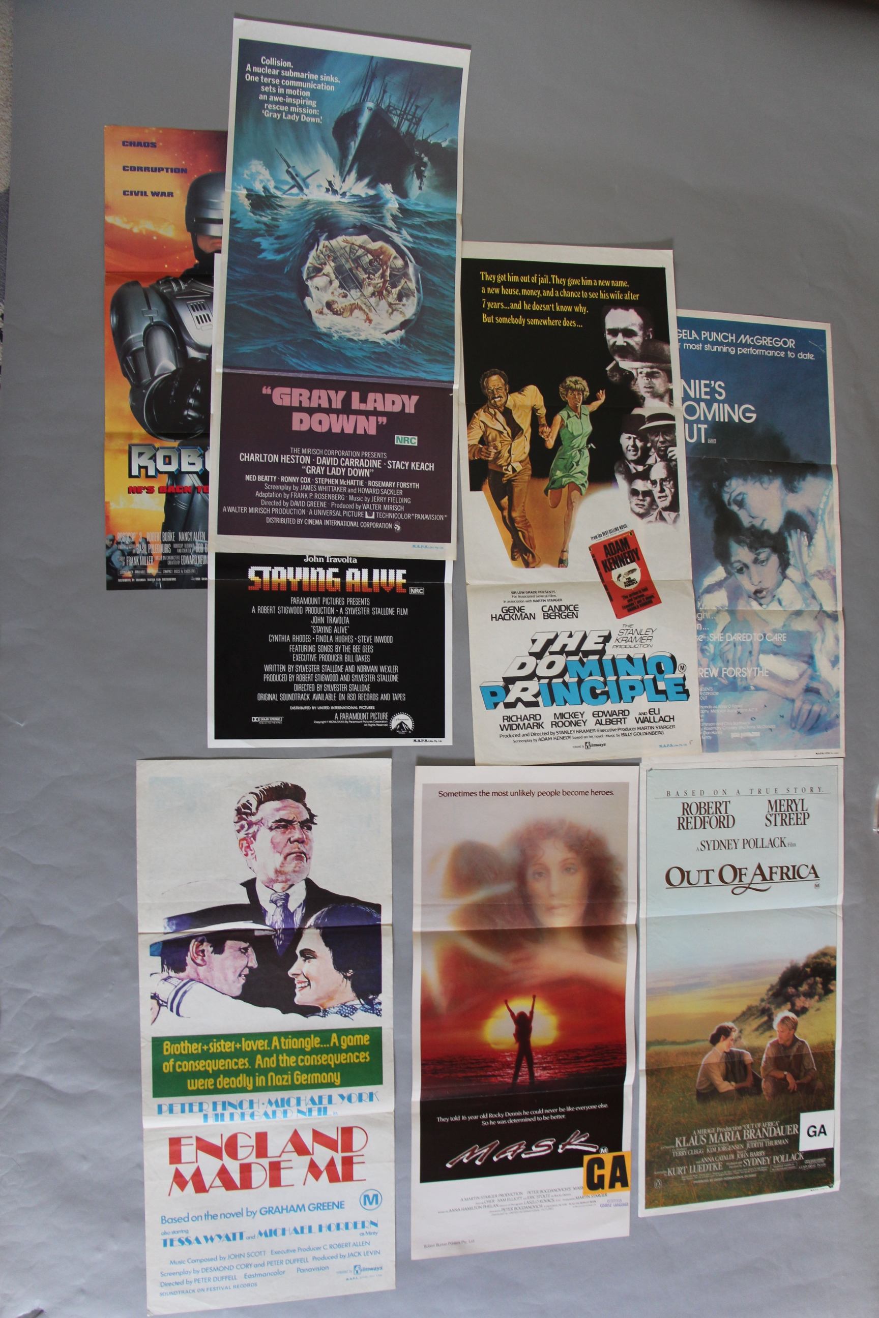 "Lot 47A - Collection of Forty posters and campaign material including ""Star Wars Return of the Jedi"" cinema"