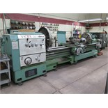 "Victor mdl. 32120HD 32"" x 120"" Geared Head Gap Bed Lathe s/n C38 w/ 16-900 RPM, Inch/mm"