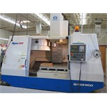 Daewoo Mynx 500 CNC Vertical Machining Center w/ Fanuc Series 21-M Controls, 24-Station ATC, CAT-