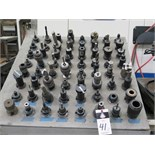 (64)CAT-40 Taper Tooling
