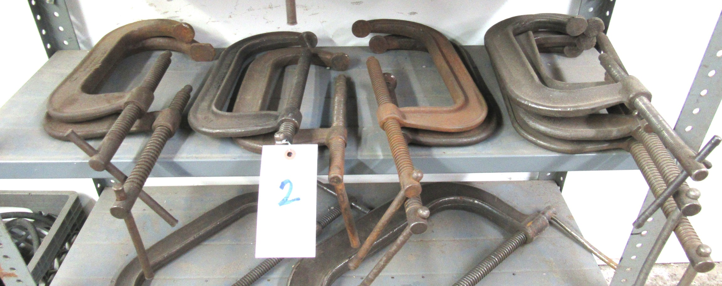 Lot 2 - (10) C-Clamps